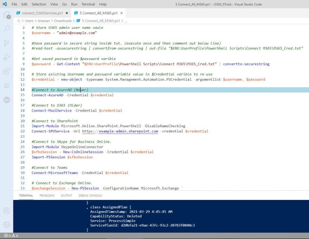 Office365 Azure AD